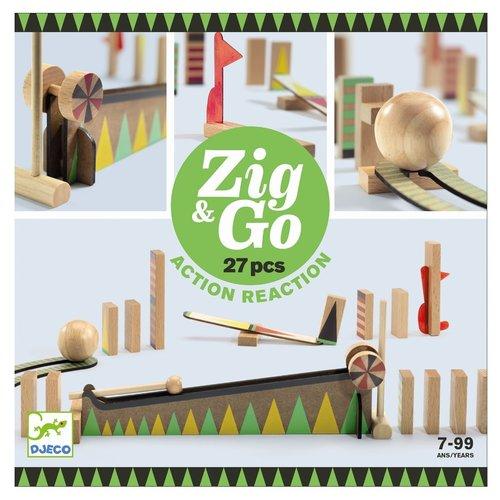 Djeco Kettingreactiespel Zig & Go (27st)