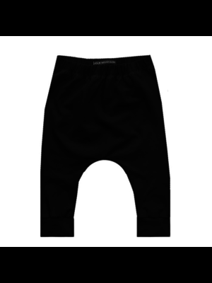 Your Wishes Baggy Pants - Solid Black