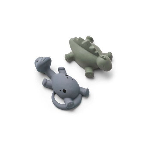 Liewood Algi Bath Toys 2 Pack - Blue mix