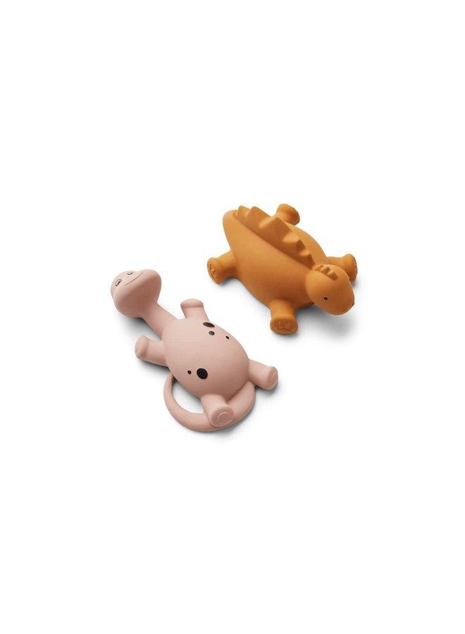 Algi Bath Toys 2 Pack - Rose mix