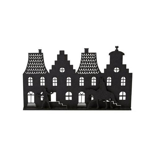 Zoedt Grachtenpandjes met Sint en Piet