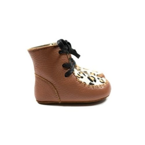 Mockies High Boots - Leopard Brown