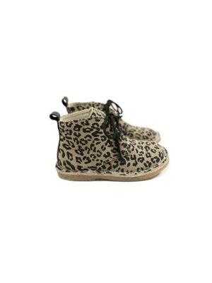 Mockies Kids Boots - Leopard Grey