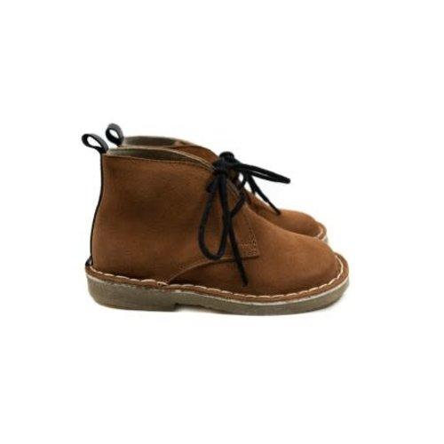 Mockies Kids Boots - Brown/Black