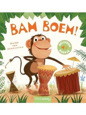 Clavis Books Guido van Genechten - Bam Boem! (geluidenboekje)