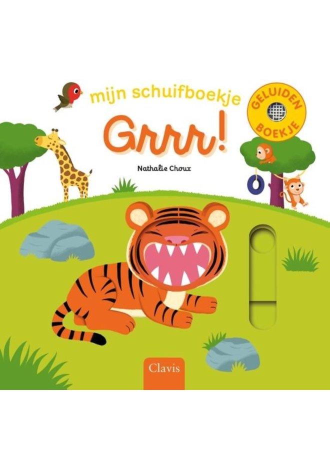 Grrr! Mijn schuifboekje - Nathalie Choux