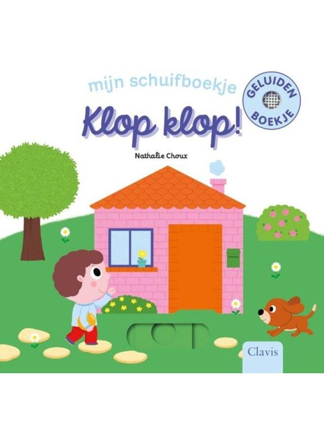 Klop, klop! Mijn schuifboekje - Nathalie Choux