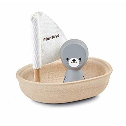 Plan Toys Sailing Boat Seal