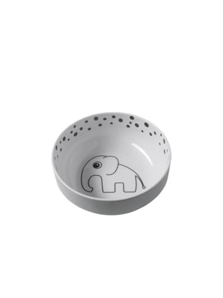 Done by Deer Yummy bowl, Happy dots, grey