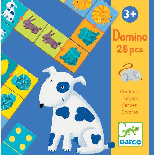 Djeco Gekleurde dieren - Domino - DJ08111