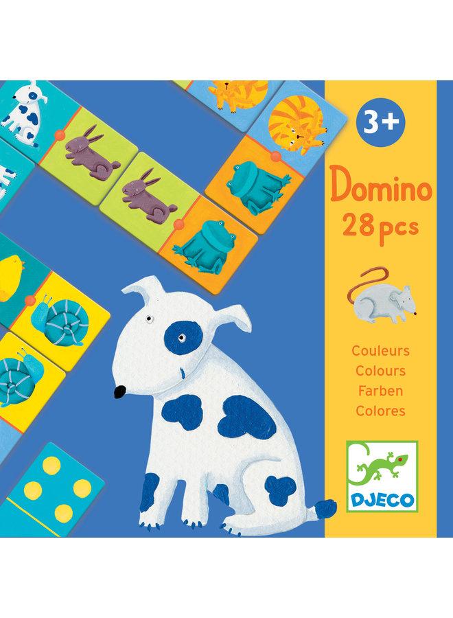 Djeco - Gekleurde dieren - Domino - DJ08111