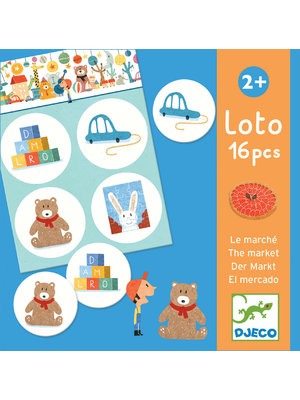 Djeco Loto The Market - DJ08125