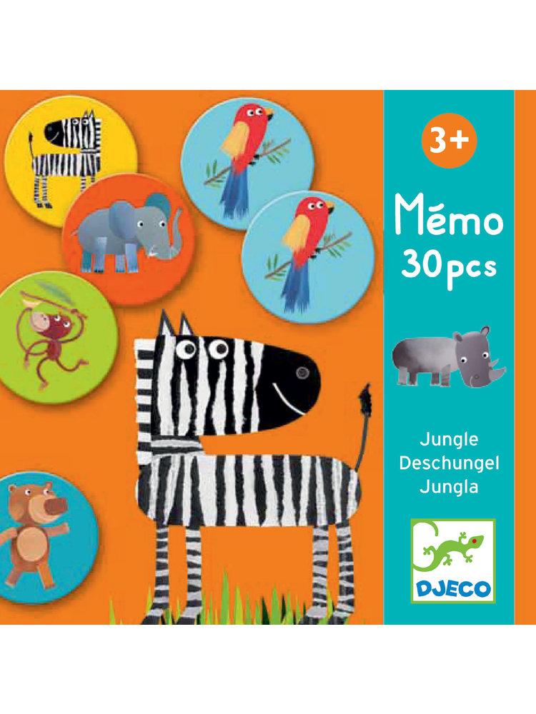 Djeco Memo Jungle - DJ08159