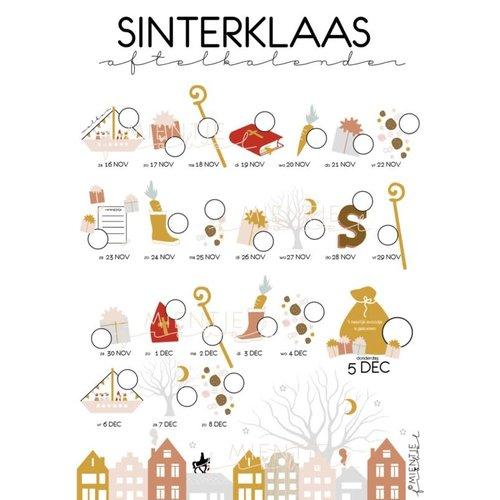 Mientje Frobel Sinterklaas Aftelkalender