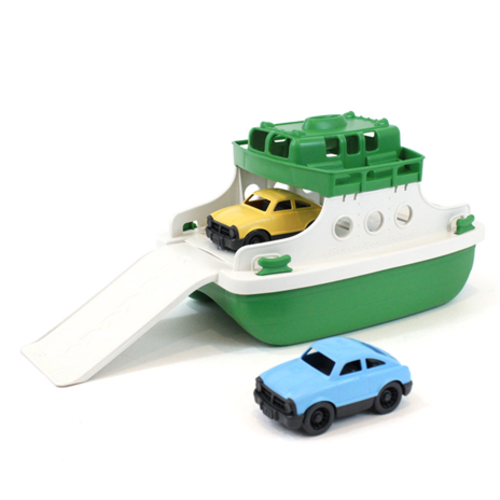 Green Toys Ferry Boat - Green/White