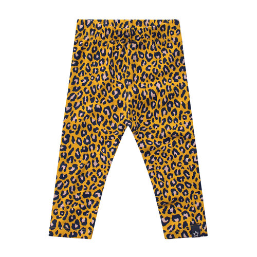 Your Wishes Legging - Leopard - Ochre
