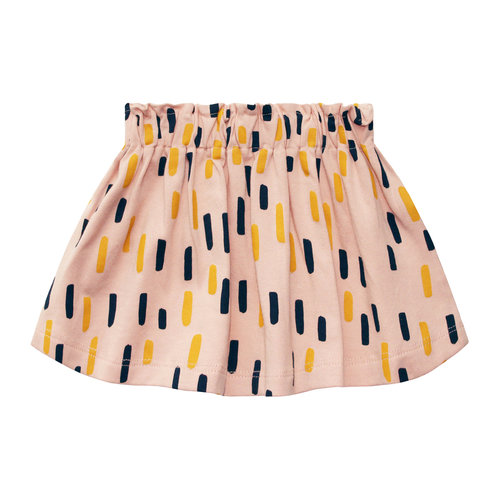 Your Wishes Skirt - Multi Strokes