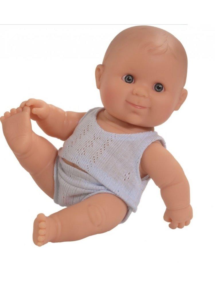 Paola Reina Puppegie blanke jongen (ondergoed/22cm)