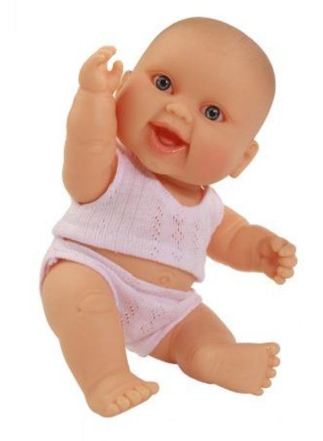 Puppegie blank meisje (ondergoed/22cm)