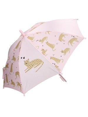 Kidzroom Paraplu Kidzroom Fearless & Cuddle Panther