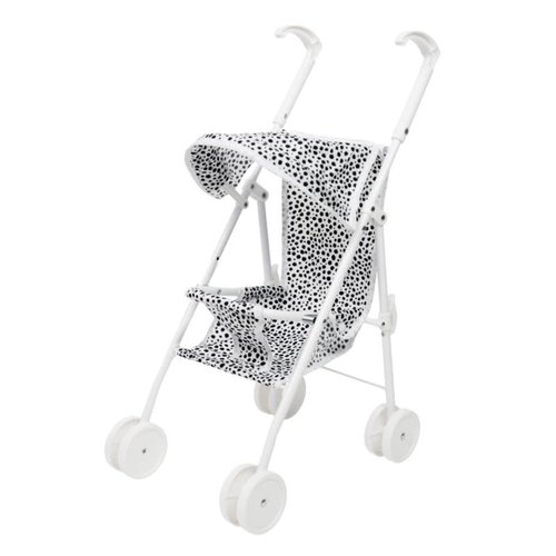 VanPauline Buggy - White Dots