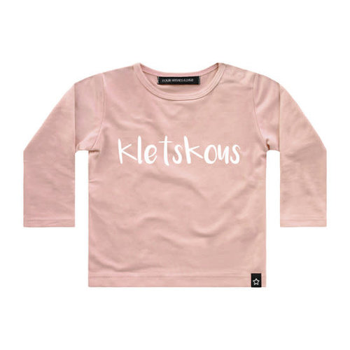 Your Wishes Longsleeve - Kletskous - Pink