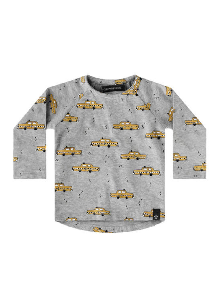 Your Wishes Raglan longsleeve - Yellow Taxi