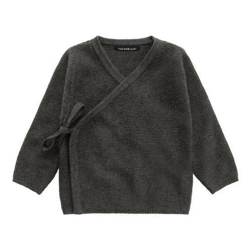 Your Wishes Grey Knit - Newborn Vest