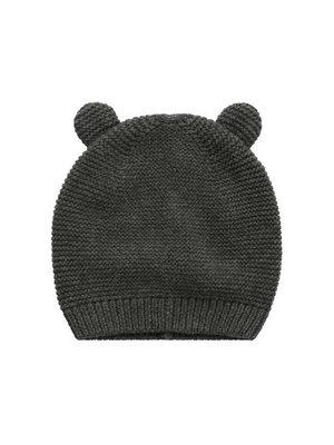 Your Wishes Grey Knit - Newborn Hat