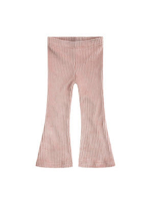 Your Wishes Pink Ribcord | Flared Legging