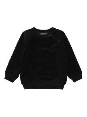 Your Wishes Black Ribcord | Sweater