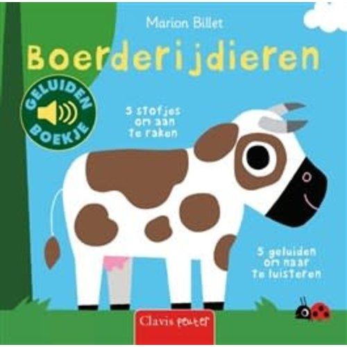Clavis Books Marion Billet - Boerderijdieren (geluidenboekje)