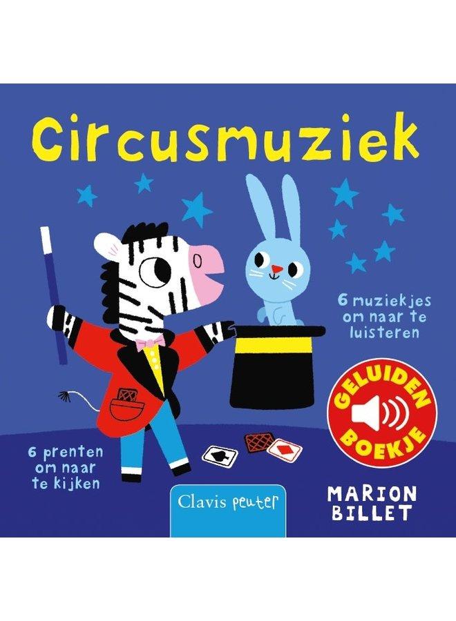 Marion Billet - Circusmuziek (geluidenboekje)