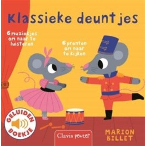 Clavis Books Marion Billet - Klassieke Deuntjes (geluidenboekje)