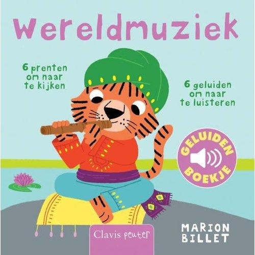 Clavis Books Marion Billet - Wereldmuziek (geluidenboekje)