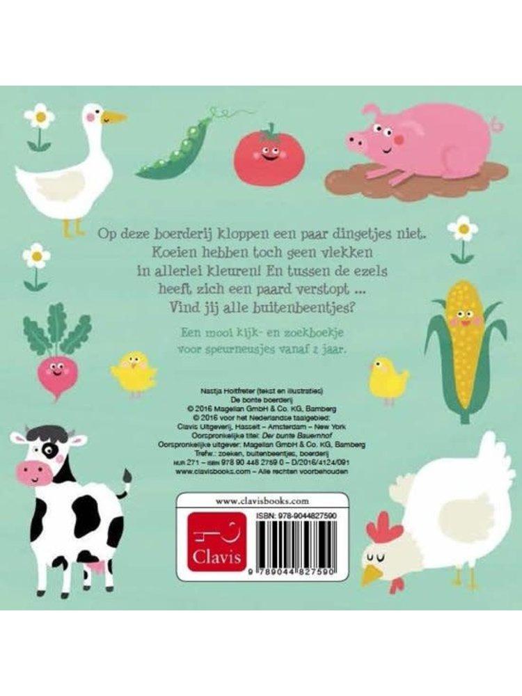 Clavis Books Nastja Holtfreter - Bonte Boerderij