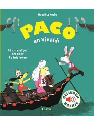 Clavis Books Magali Le Huche - Paco en Vivaldi (geluidenboek)