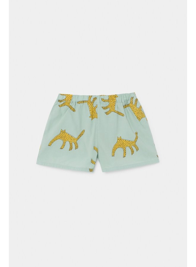 Woven Shorts - Leopards