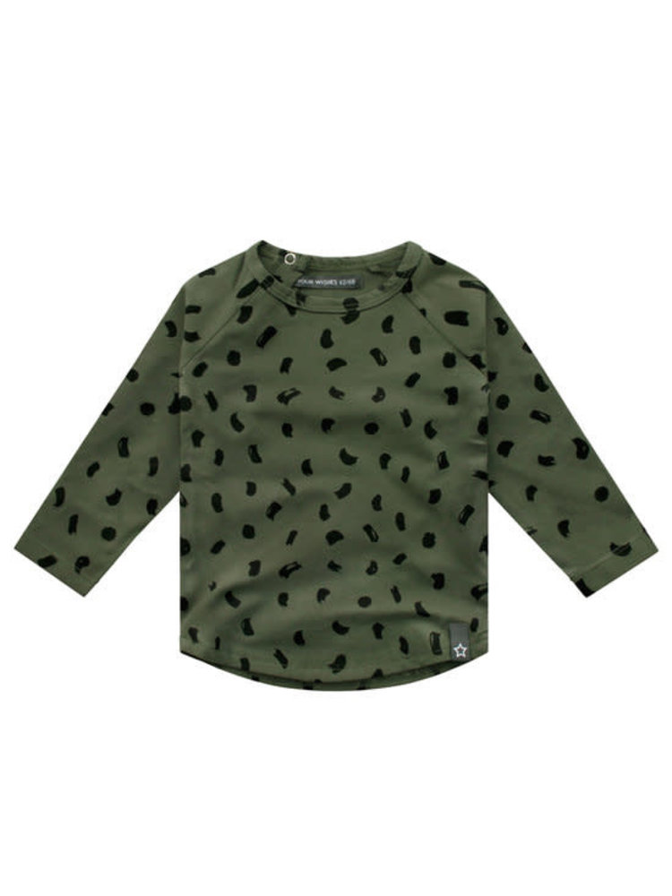 Your Wishes Army Brushes | Raglan Longsleeve