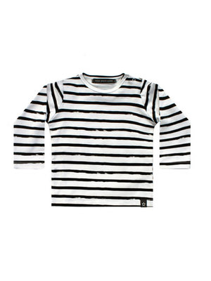 Your Wishes Stripes Off-White | Longsleeve