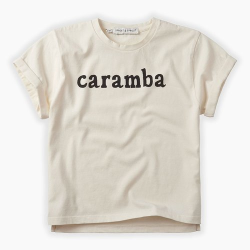 Sproet & Sprout T-shirt Caramba - Summer White