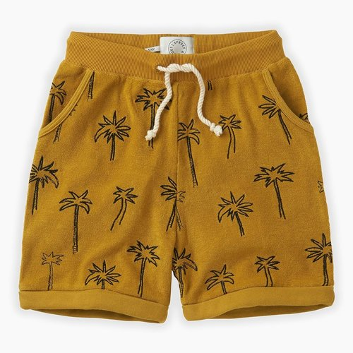 Sproet & Sprout Shorts terry Palm Tree - Curcuma
