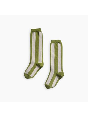 Sproet & Sprout Socks stripe Green - Tropical Green