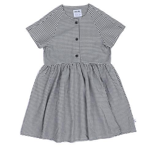 CarlijnQ Mini Checkers - Woven Dress