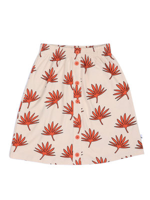 CarlijnQ Palm Leaf - Long Skirt