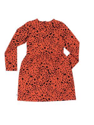 CarlijnQ Spotted Animals - Dress Longsleeve