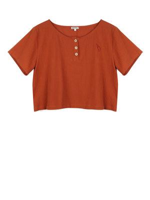 Ammehoela June Mom - Ss T-shirt - Pumpkin