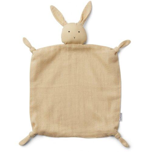 Liewood Agnete / Cuddle Cloth - Rabbit Smoothie Yellow
