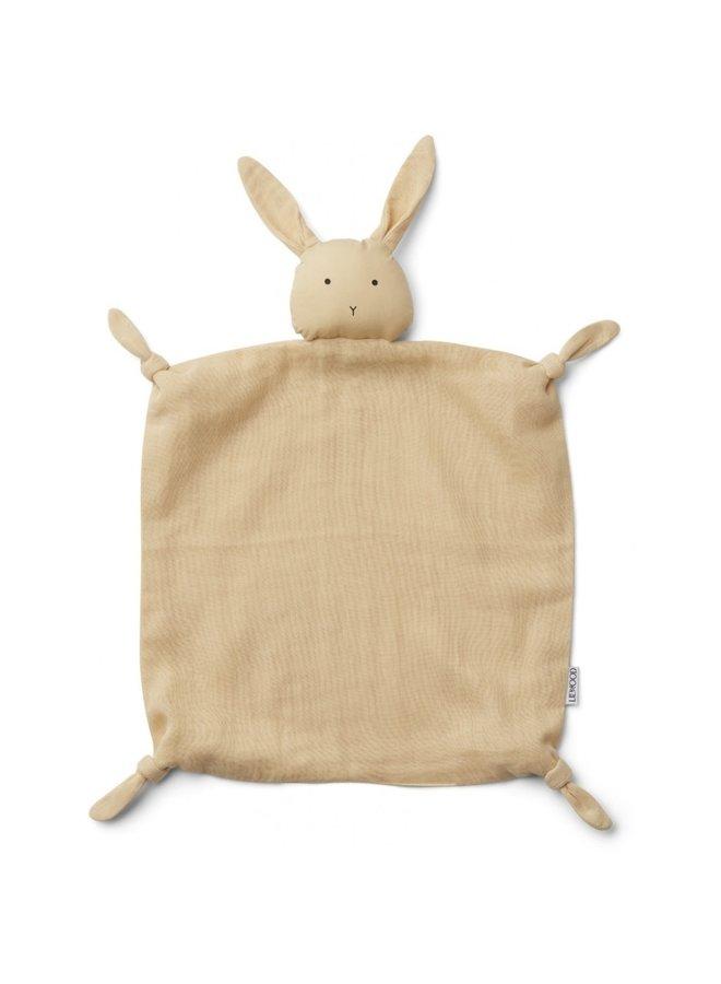 Liewood - Agnete / Cuddle Cloth - Rabbit Smoothie Yellow