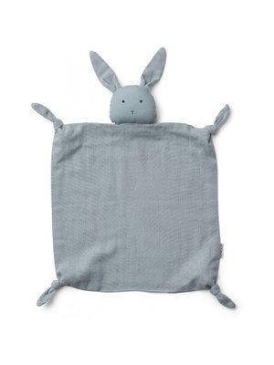 Liewood Agnete / Cuddle Cloth - Rabbit Sea Blue